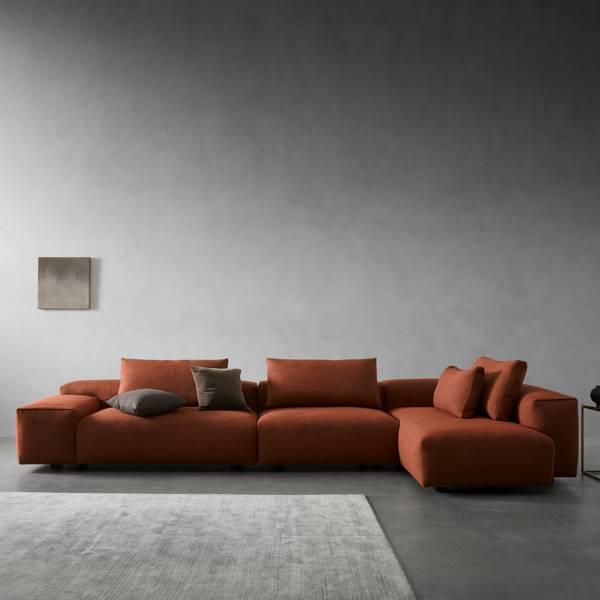 Raft - 3 piece Sectional Sofa - Right Chaise