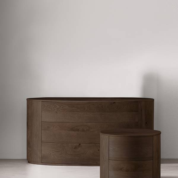 Heat Treated Oak - Night Stand not included