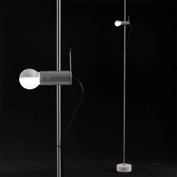Agnoli Floor Lamp - Nickel