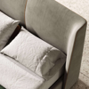 Domkapa-Price Category 1-Powell 100% Polyester Velvet - Khaki