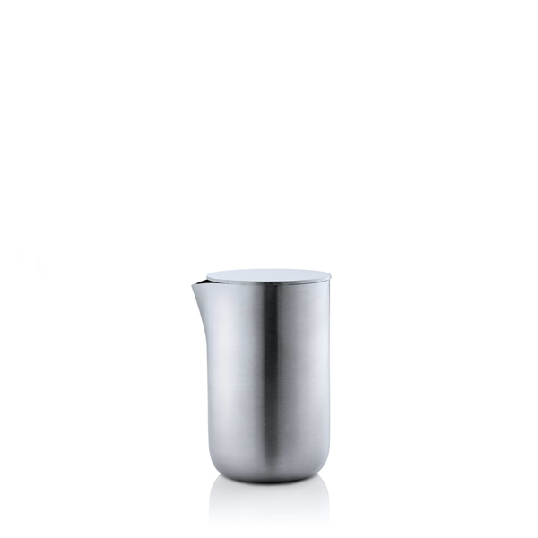 Basic Stainless Steel Creamer with Lid