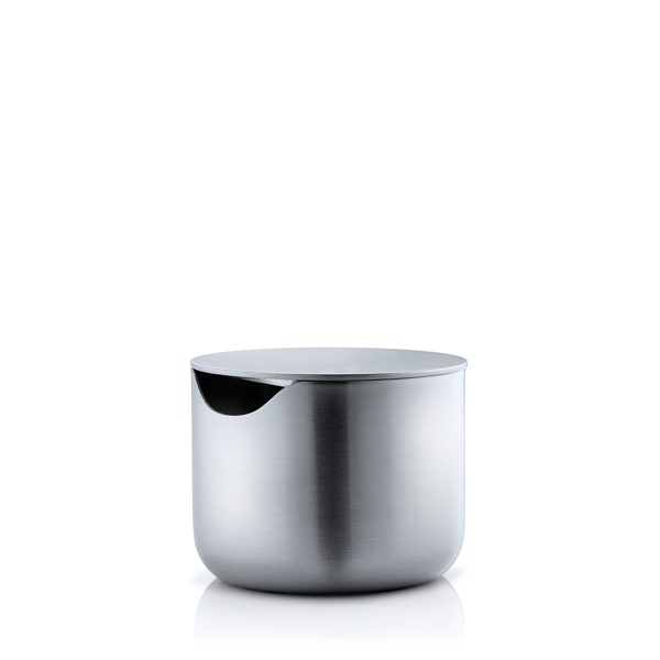 Basic Stainless Steel Sugar Bowl with Lid