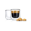 Nero Insulated Espresso Glass Set of 2