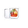 Nero Insulated Glass Set of 2