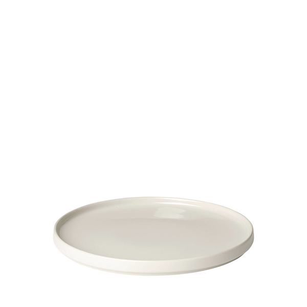 Pilar Serving Plate 12.75 Inch - Moonbeam