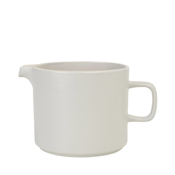 Pilar Pitcher 1 Liter 34 oz - Moonbeam (Cream)