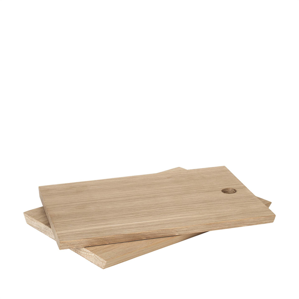 Borda Oak Serving Board 6 X 8 Set of 2