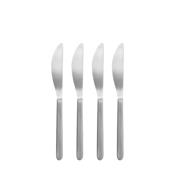 Stella Stainless Steel Butter Knives Set of 4