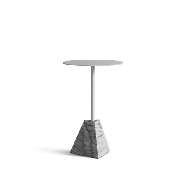 Knockout Side Table Pyramid Base