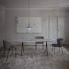 Saw Marble Dining Table Rounded